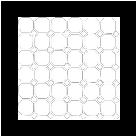 mosaico-octogonal
