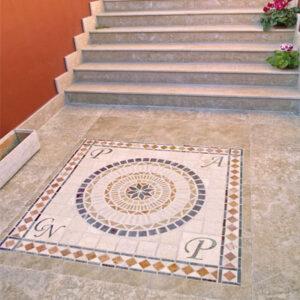 Mosaico piedra natural cerámica