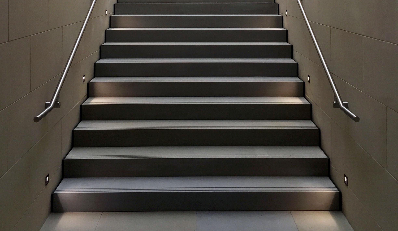 Escaleras Ranuras Antideslizantes