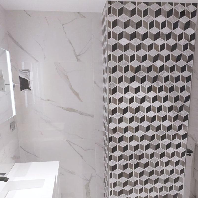 Baño columna mosaico Atrium